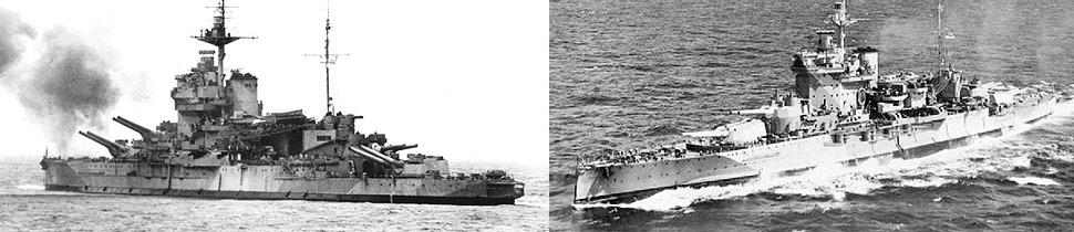 HMS Warspite WWII