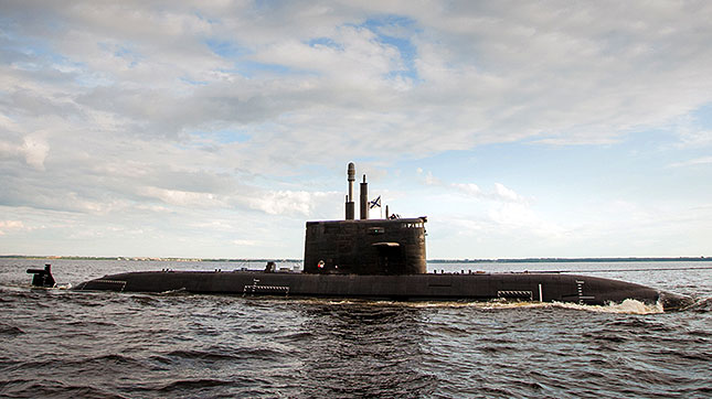 New Russian Submarine