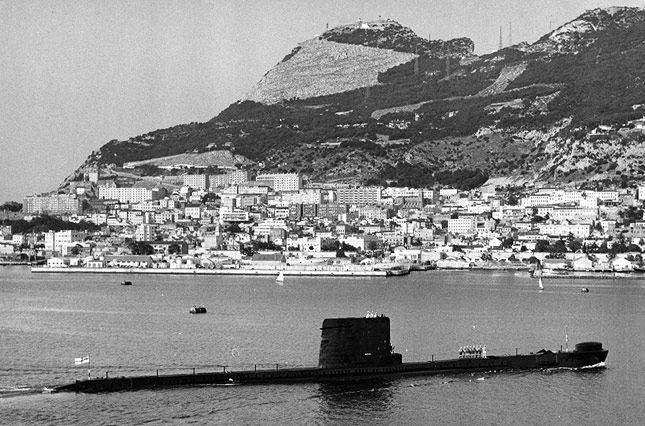 HMS Alliance, Gibraltar