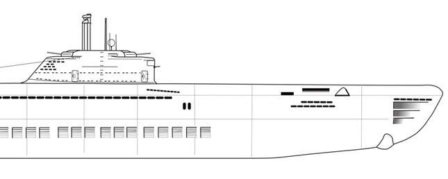 Type XXI Uboat