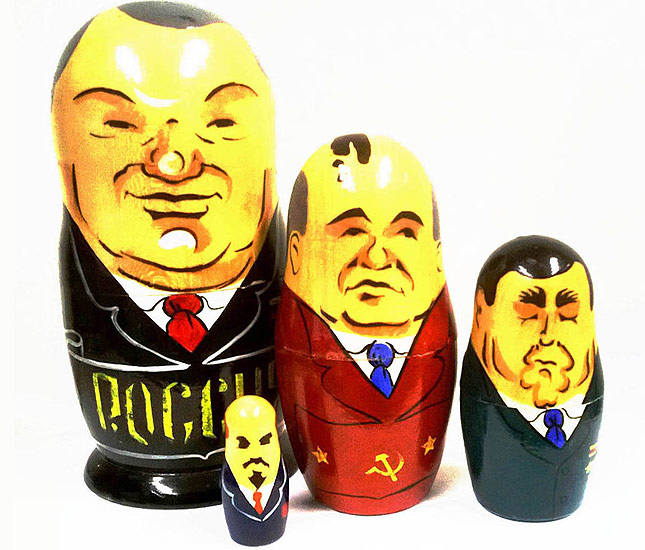 Russian Leader dolls