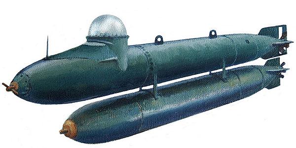 German Niger torpedo