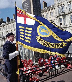 Warspite Association standard