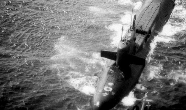 Yankee Class submarine explosion