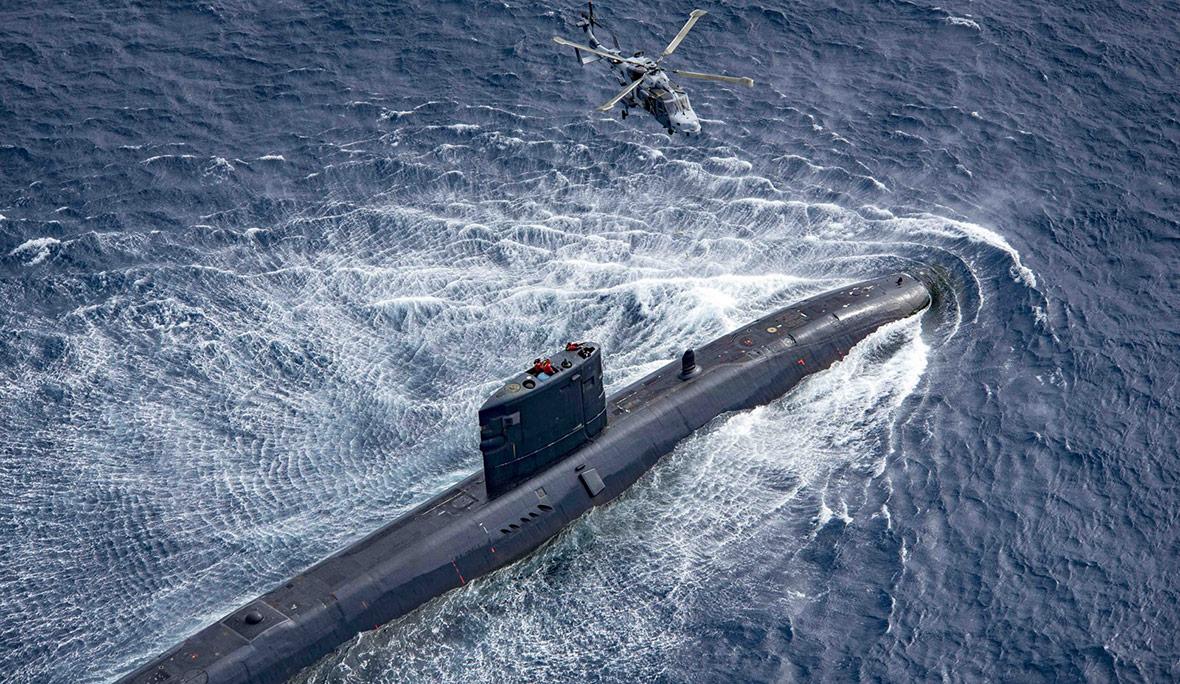 British nuclear submarine