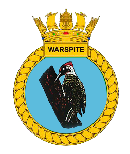 HMS Warspite crest