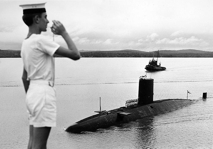 Submarine Warspite | Iain Ballantyne